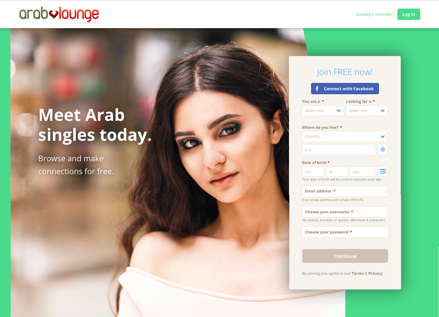 Arab Dating Site. Best online dating site for arab singles