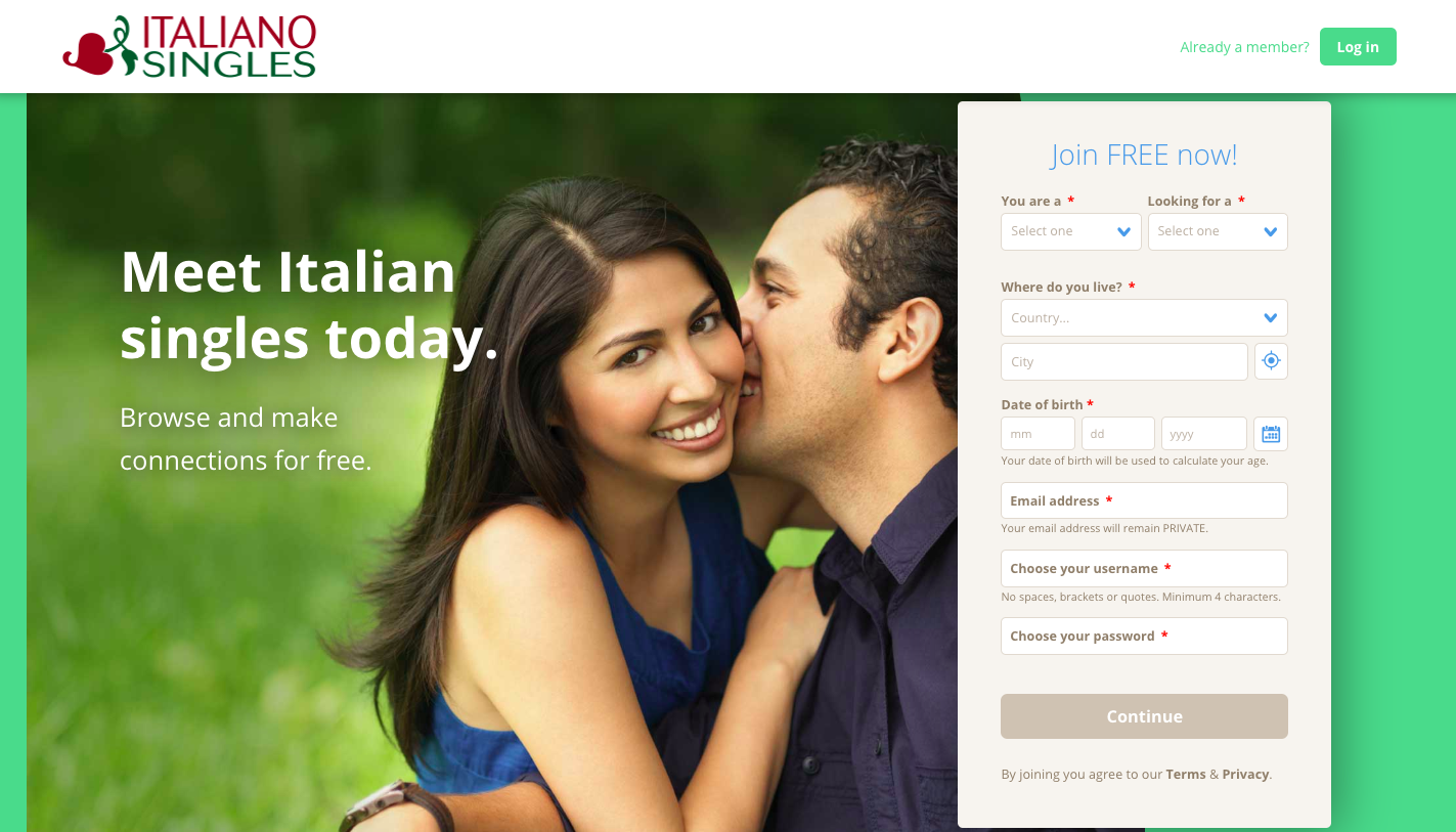 italian dating sites for free