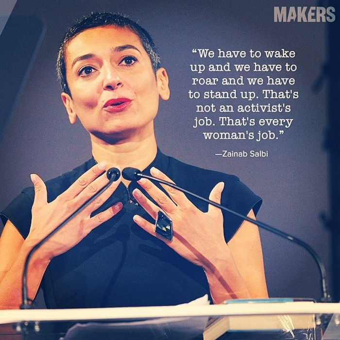 A quote by Zainab Salbi