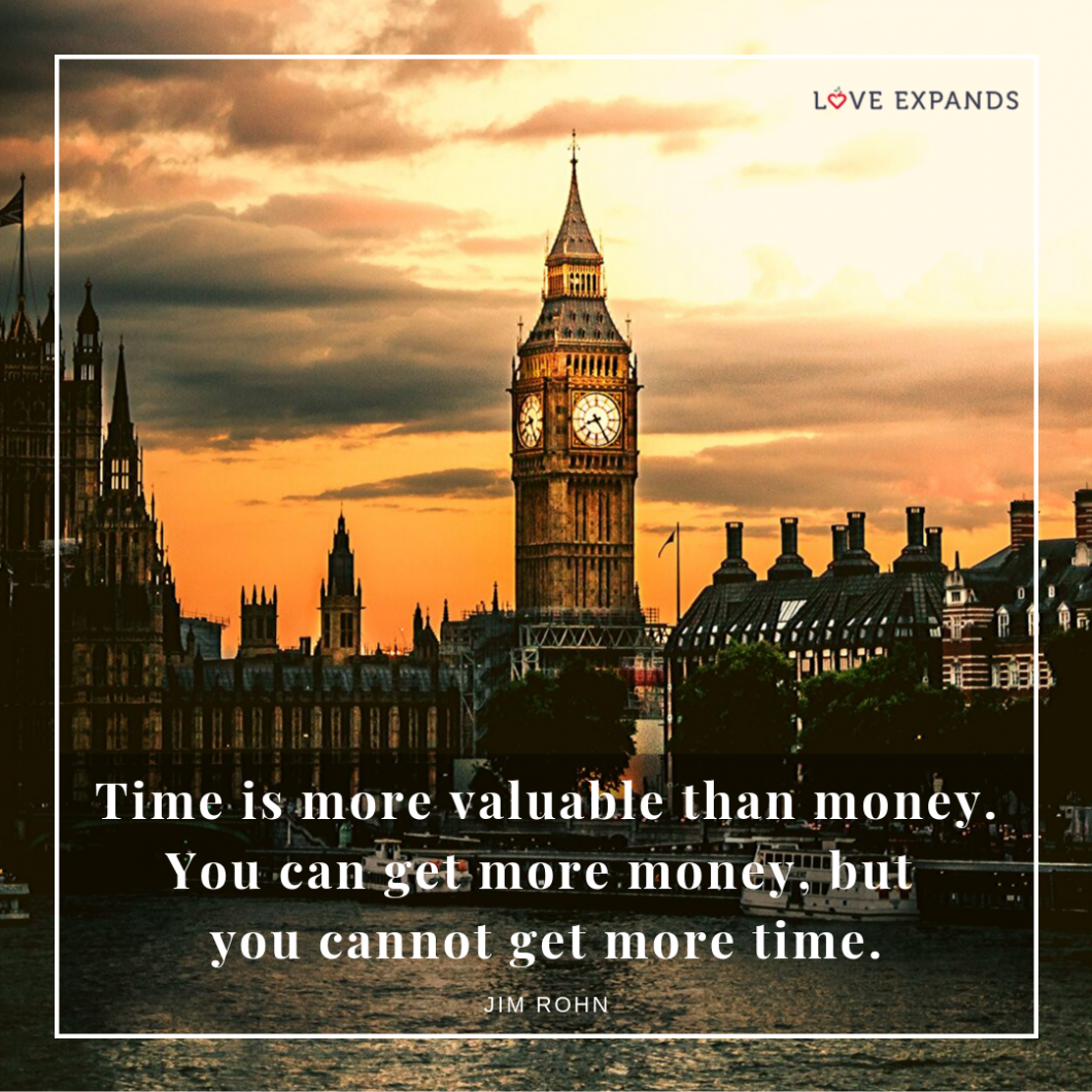 Time is more valuable than money. You can get more money, but you cannot get more time. Picture quote by Jim Rohn