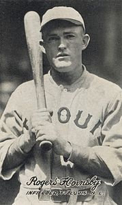 Best quotes by Rogers Hornsby