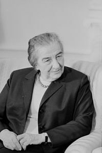 Best quotes by Golda Meir