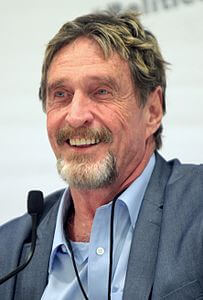 Best quotes by John McAfee