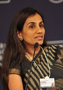Best quotes by Chanda Kochhar