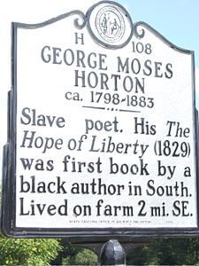 Best quotes by George Moses Horton