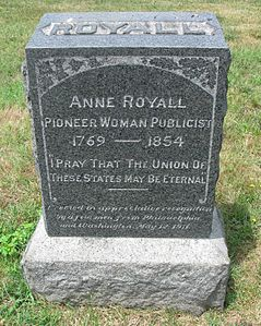 Best quotes by Anne Royall