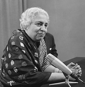 Best quotes by Vijaya Lakshmi Pandit
