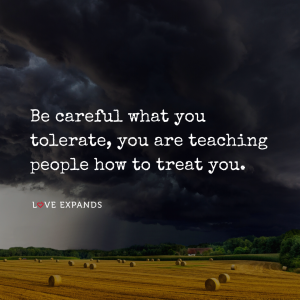 Picture quote of farmland with dark, ominous rolling clouds.
