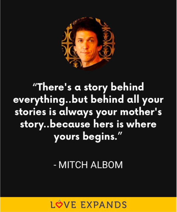 Mitch Albom Mother's Day quote