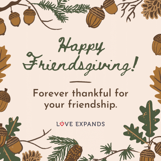 "Gratitude and friendship picture quote: ""Forever thankful for your friendship."""
