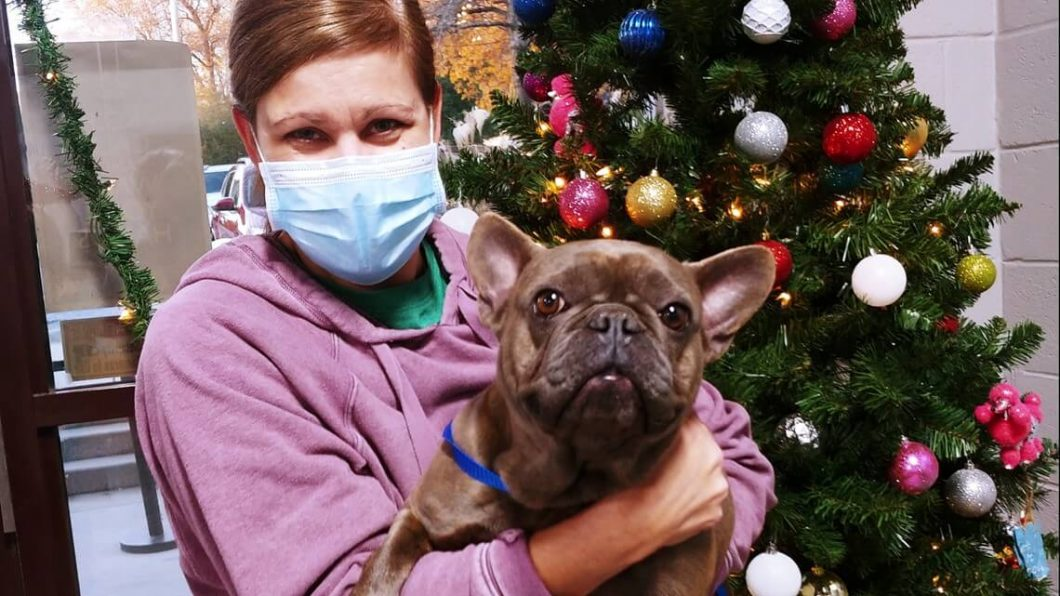 An Atlanta couple has thankfully been reunited with their stolen pet, an 11-month-old French Bulldog named Stormy.