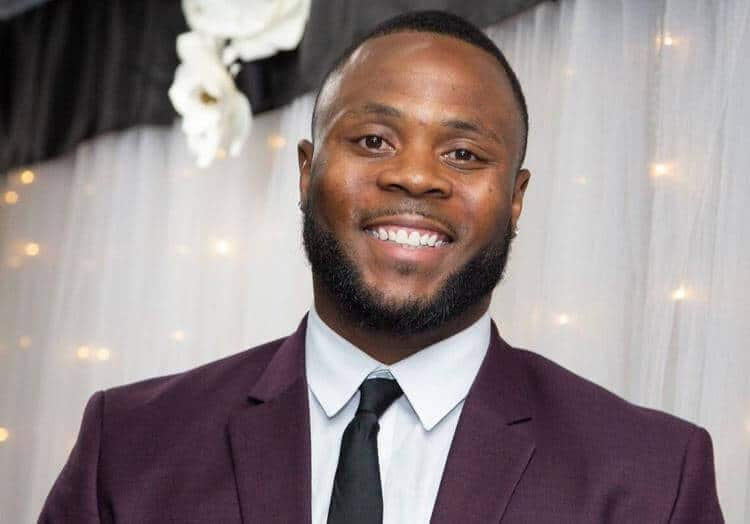 Darrion Cockrell, a physical education teacher at Crestwood Elementary in Lindbergh Schools, is 2021 Missouri Teacher of the Year.