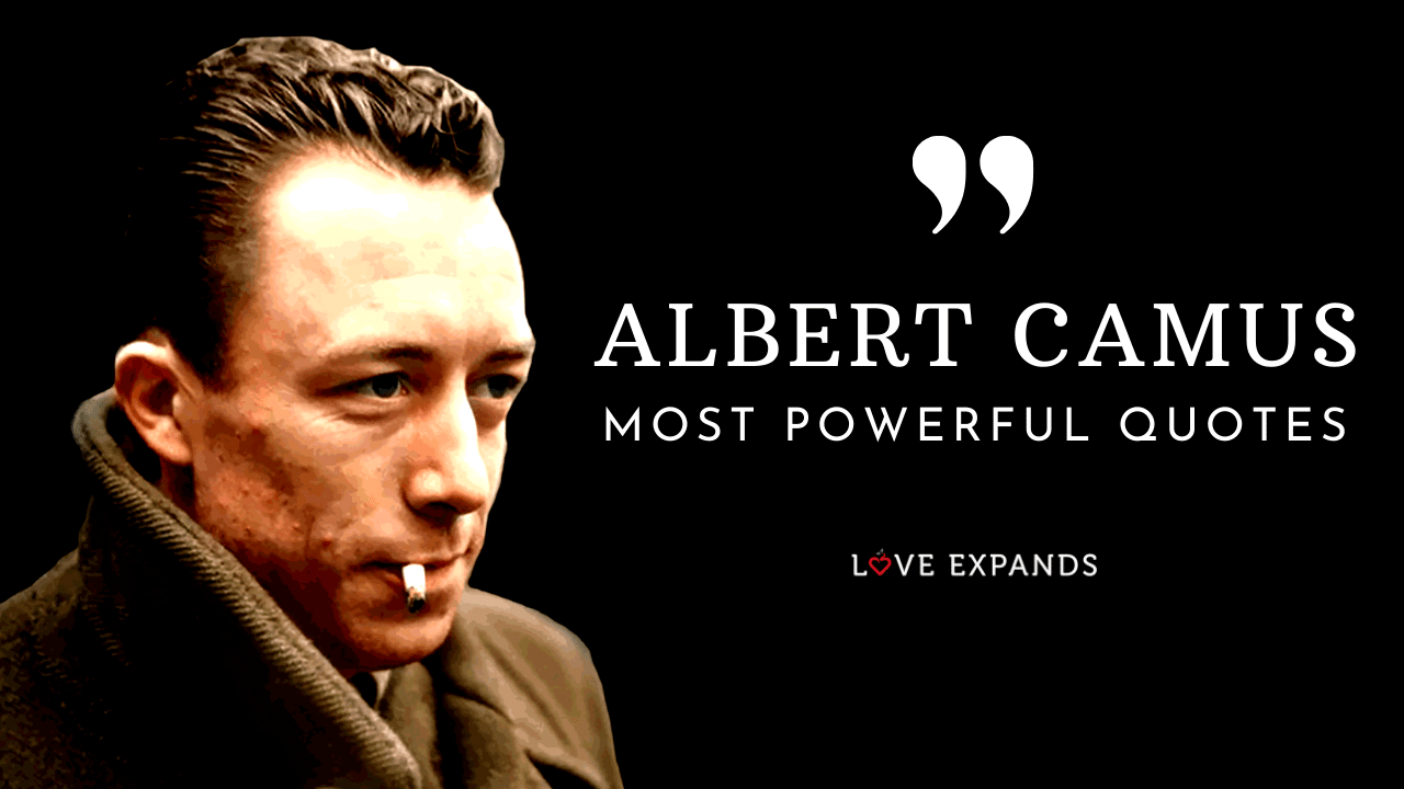 A list and video of 24 Powerful Albert Camus Quotes