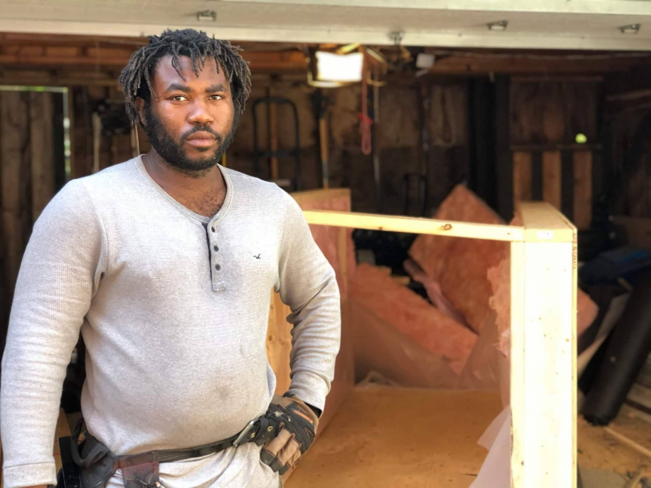 Toronto Hero Khaleel Seivwright Builds Small Shelters for The Greater Good