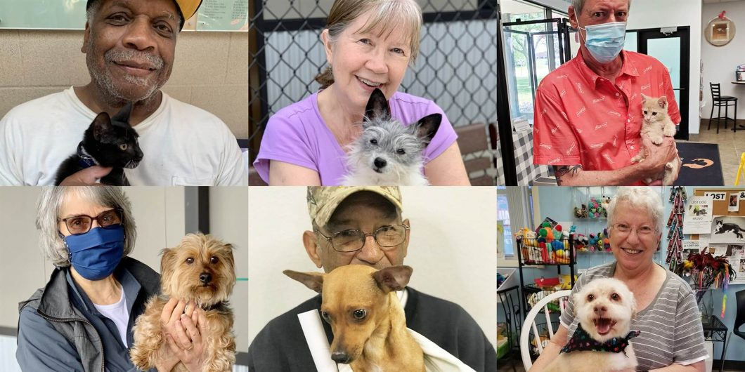 Pets for the Elderly Bringing Smiles to Seniors since 1992
