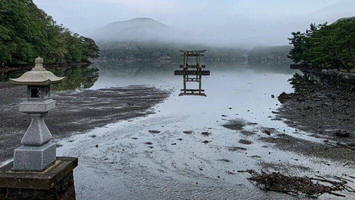 Ghost of Tsushima Fans Help Restore Real-Life Torii Gate in Japan