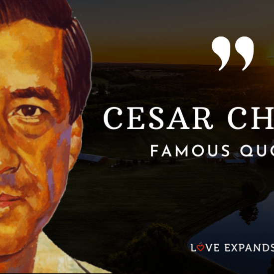 A list and video of 28 famous and best Cesar Chavez quotes