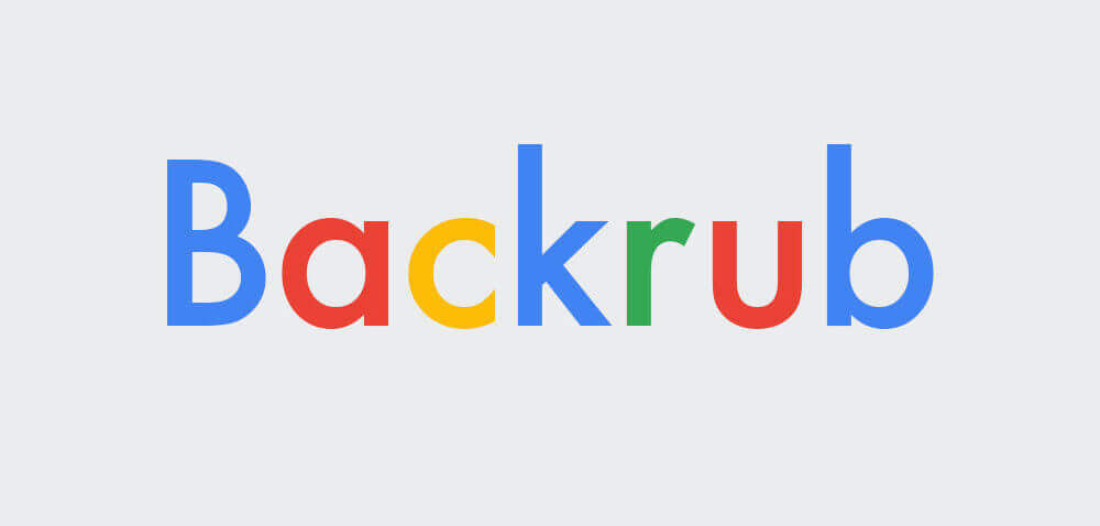 Interesting Fact: The original name for the search engine Google was Backrub