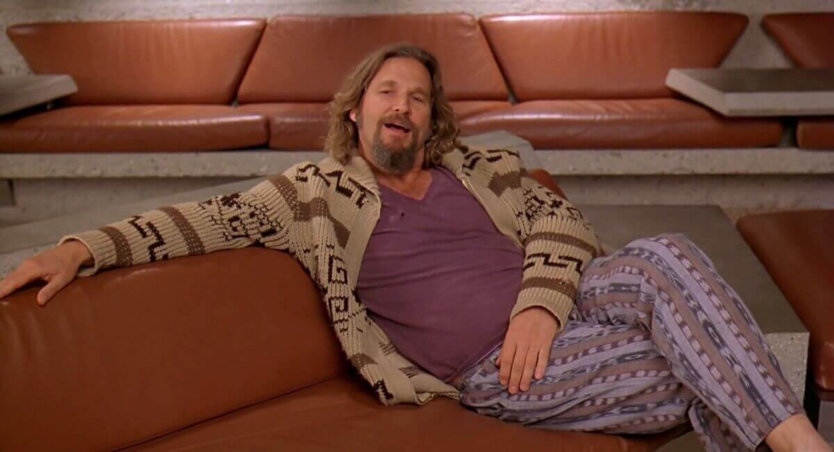 The ultimate dude Jeff Bridges as Jeffrey Lebowski