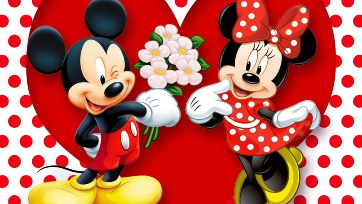 Fun fact: Mickey and Minnie Mouse were married in real life