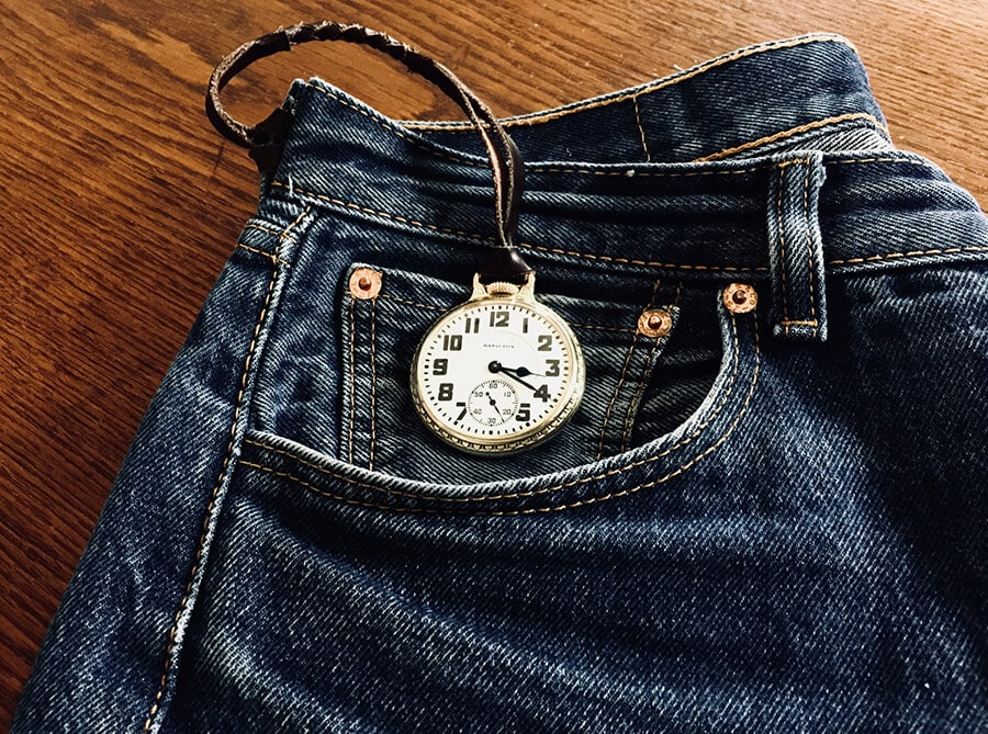 The tiny pocket in jeans was made for pocket watches