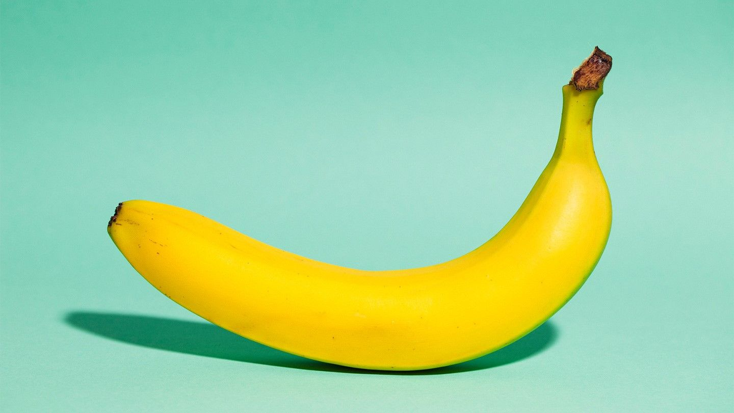 Bananas are curved because they grow towards the sun
