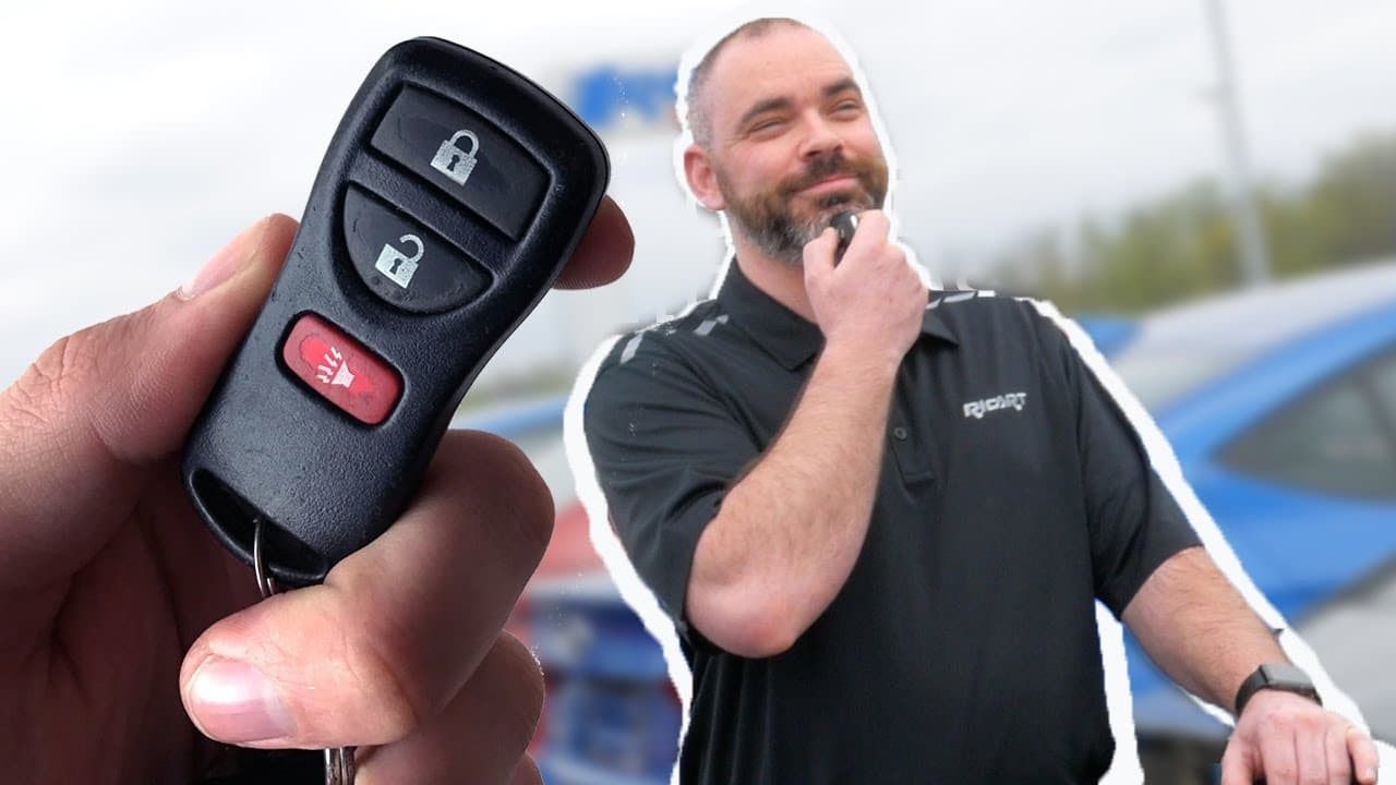 Pointing your car remote to your head or under your chin increases its range