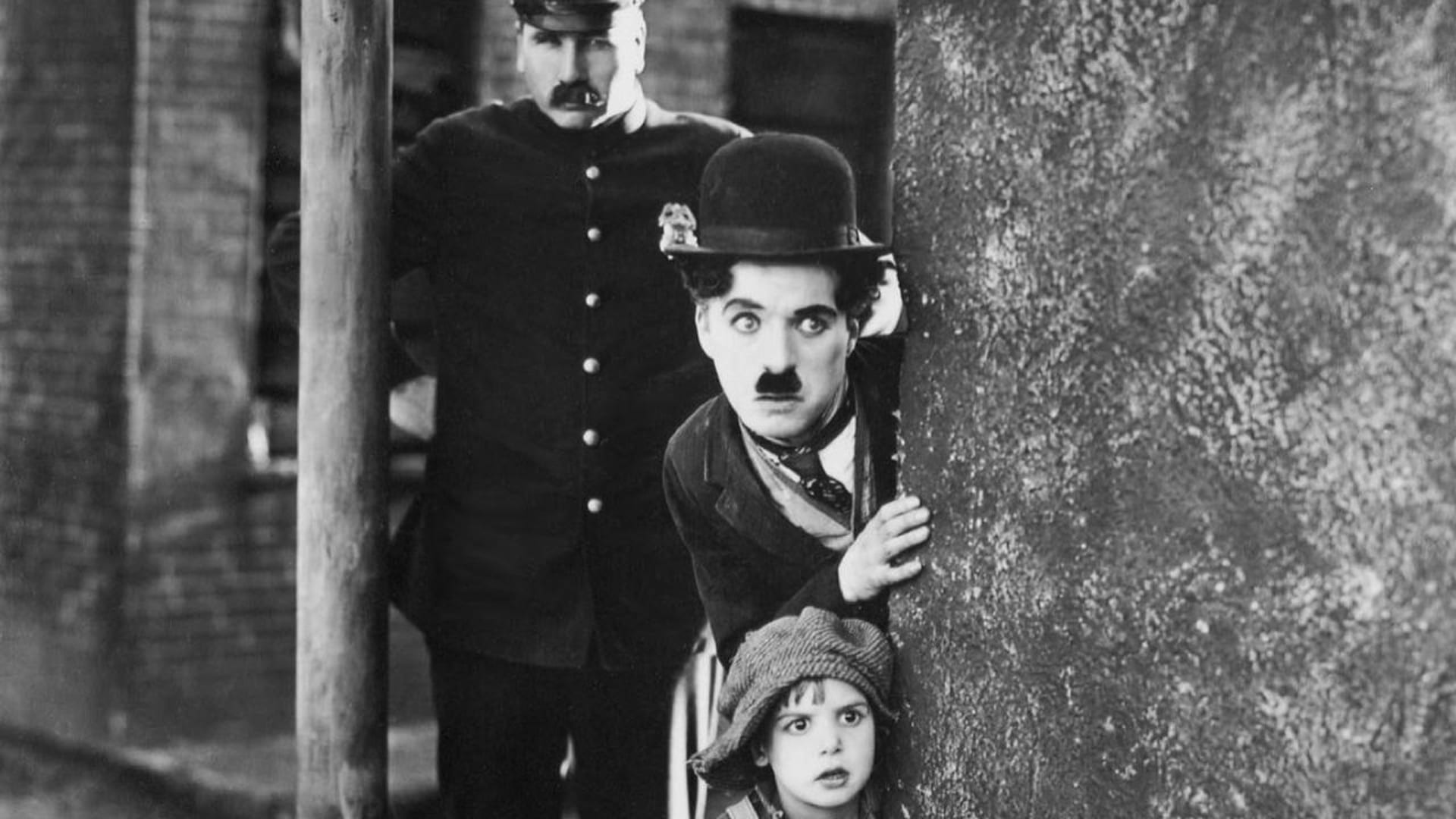 A movie trailer of Charlie Chaplin