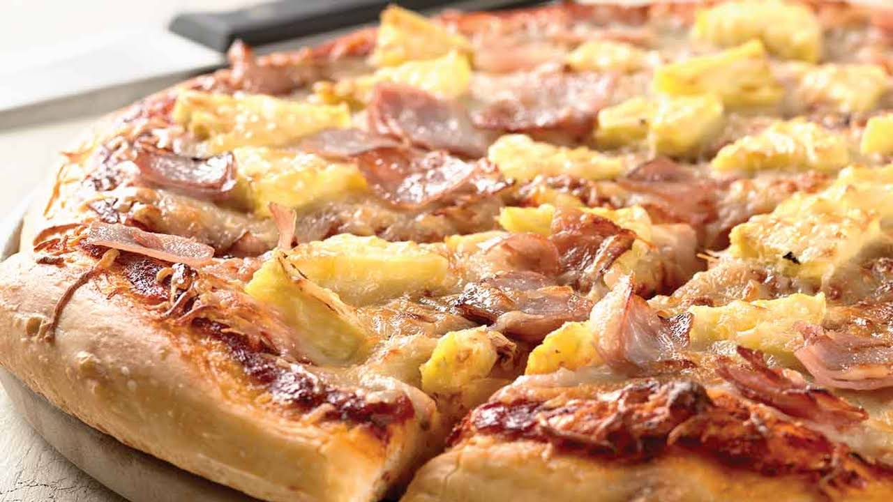 Hawaiian pizza is a Canadian invention