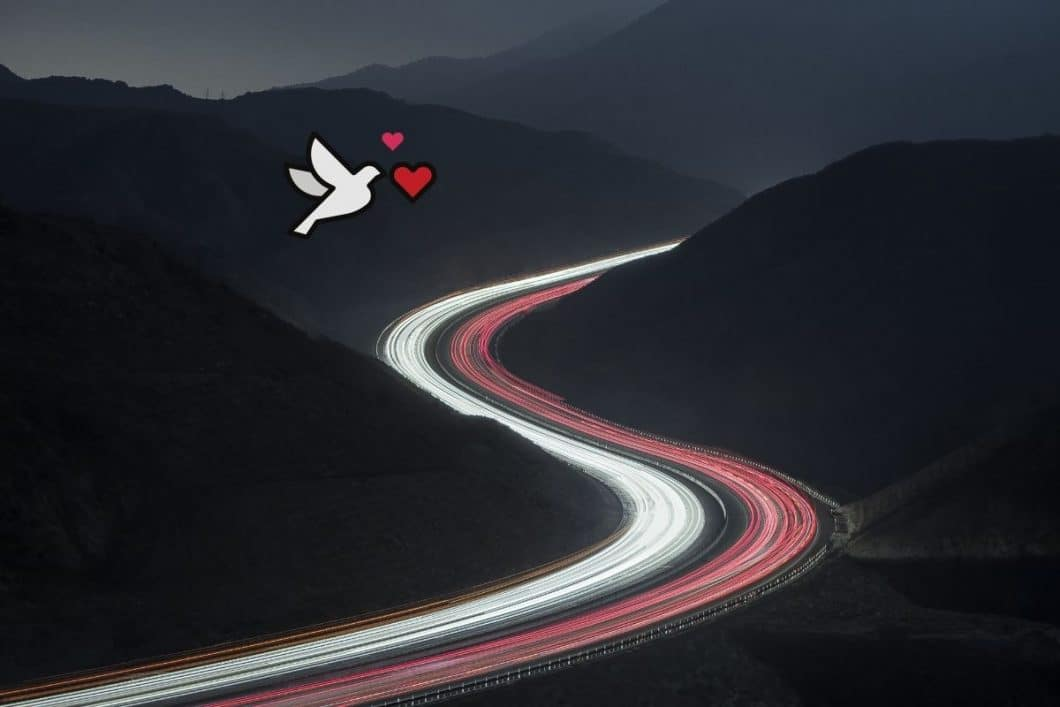 Embodied love: a swerving road can twist your romance