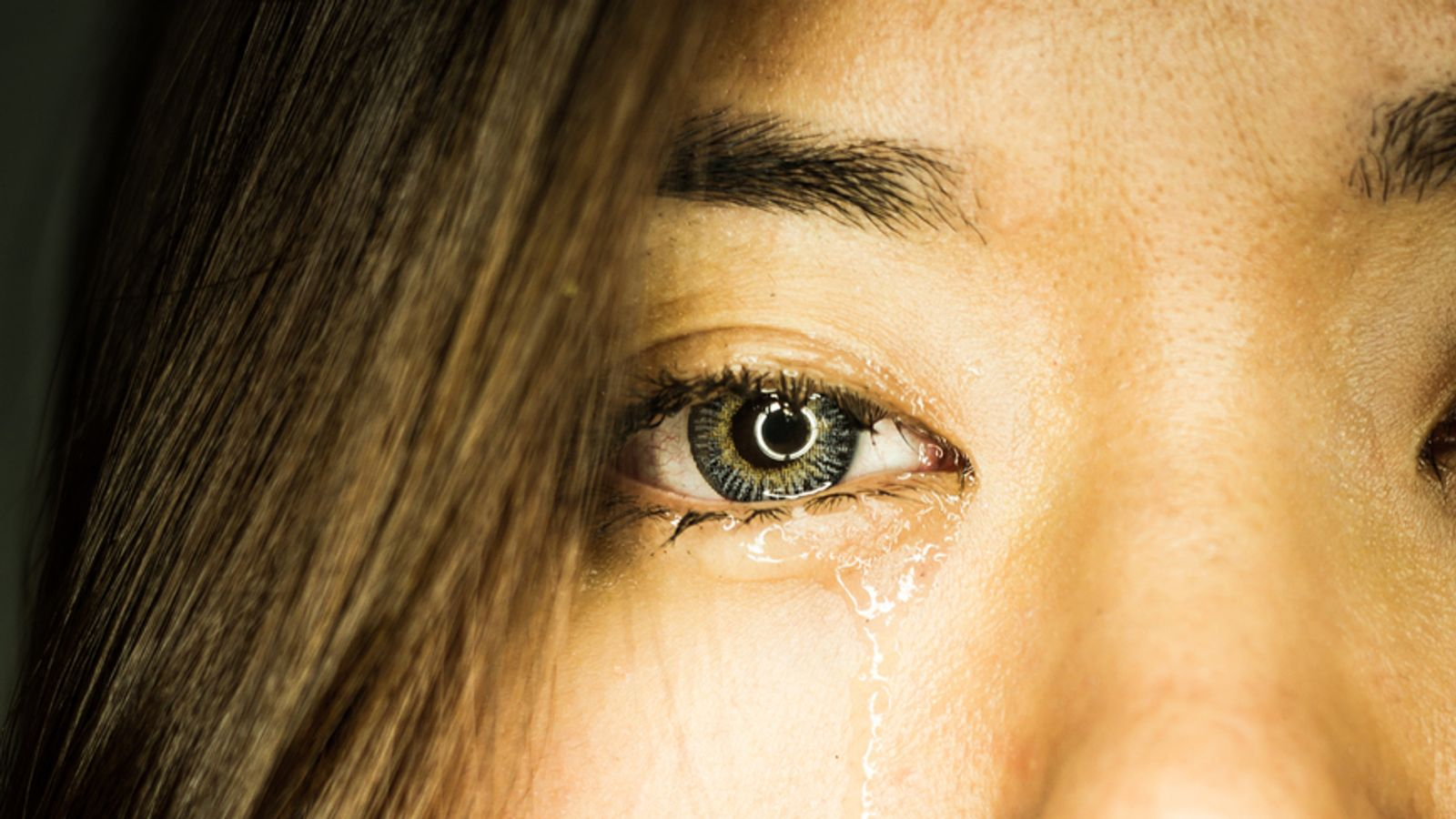 Tears contain a natural painkiller, which reduces pain and improves your mood