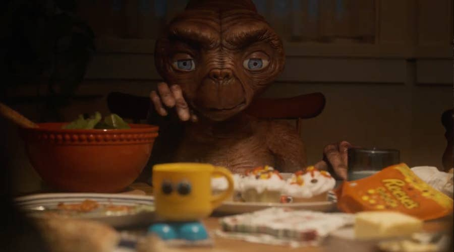 E.T.'s favorite candy was supposed to be M&Ms