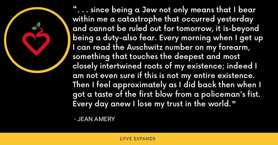 Best Jean Amery Quotes   Love Expands
