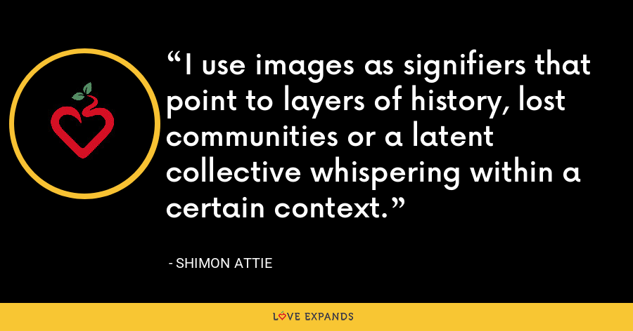 I use images as signifiers that point to layers of history, lost communities or a latent collective whispering within a certain context. - Shimon Attie